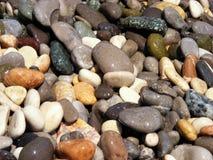 Seixos do mar Foto de Stock