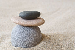 Seixos do zen Imagens de Stock Royalty Free