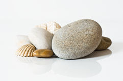 Seixos do zen Fotos de Stock Royalty Free