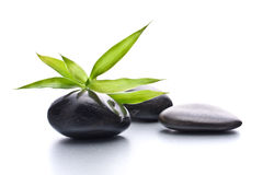 Seixos do zen. Conceito de pedra dos termas e dos cuidados médicos. Imagens de Stock