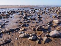Seixos e rochas Foto de Stock