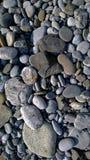 Seixos na costa de mar Fotos de Stock Royalty Free