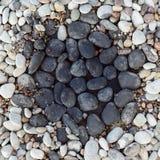 Seixos no jardim de rocha Imagem de Stock Royalty Free