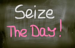 Seize The Day Concept Royalty Free Stock Image