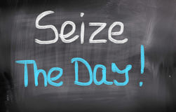 Seize The Day Concept Royalty Free Stock Photos