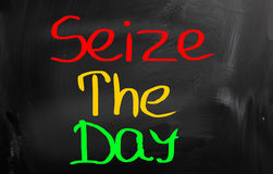 Seize The Day Concept Royalty Free Stock Images