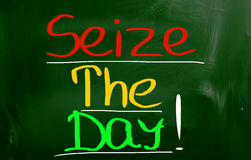 Seize The Day Concept Stock Image