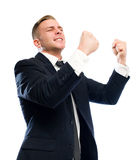 Seize the day in victory. Royalty Free Stock Image