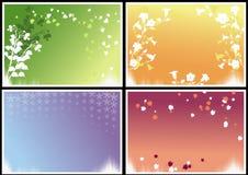 Seizoengebonden frames Royalty-vrije Stock Afbeelding