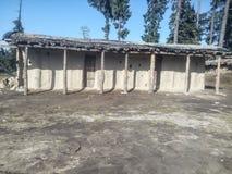 Seizoengebonden huis in Kashmir Royalty-vrije Stock Afbeeldingen