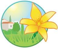 Seizoengebonden pictogram - de lente royalty-vrije illustratie