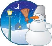 Seizoengebonden pictogram - de winter vector illustratie