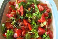 Seizoengebonden salade Royalty-vrije Stock Afbeeldingen