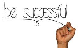 Seja bem sucedido Fotografia de Stock