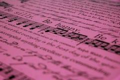 Seja cor-de-rosa feliz do fundo Fotos de Stock Royalty Free