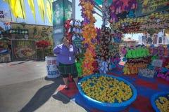 Seja Lucky Duck no San Diego Fair Imagem de Stock