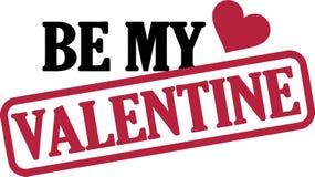 Seja meu Valentim Imagem de Stock Royalty Free