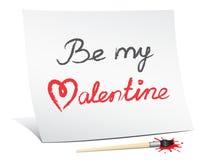 Seja meu Valentim Fotos de Stock