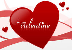 Seja meu Valentim #2 ilustração royalty free