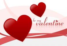 Seja meu Valentim ilustração stock