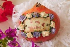 Seja meu Valentim! Imagens de Stock