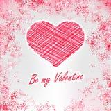 Seja meu Valentim. + EPS8 Fotos de Stock Royalty Free