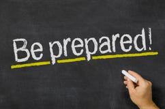Seja preparado