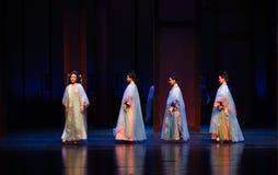 Seja selecionar-nas imperatrizes palácio-modernas do drama no palácio Fotos de Stock