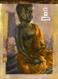 Seja um Buddha ilustração royalty free