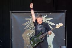 Sejdel på Metalfest 2015 Arkivfoton