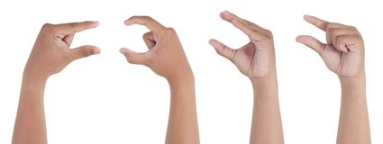 Sejeción de la mano Imagen de archivo libre de regalías