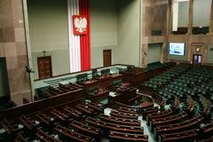 Sejm de la República de Polonia Foto de archivo