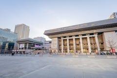 Sejong Center per Art Seoul d'esecuzione Sejong Center per arte dello spettacolo è le più grandi arti ed il complesso culturale a Immagini Stock