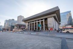 Sejong Center pour Art Seoul de exécution Sejong Center pour l'art du spectacle est les plus grands arts et le complexe culturel  Photos stock