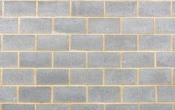Sekcja popiółu bloku ściany tło obraz royalty free
