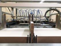 Sekcje drukowe maszyny zdjęcie stock