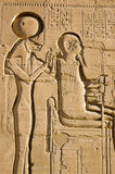 Sekhmet and Ptah Stock Photos