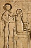 Sekhmet und Ptah Stockfotos