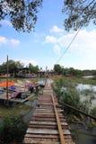 Sekinchan fiskby Arkivfoton