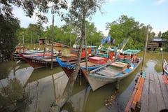 Sekinchan fiskby Arkivfoto