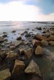 Sekinchan-Küste Stockbilder