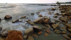 Sekinchan sjösida Arkivbilder