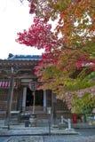 Sekizan Zen-in, tempio giapponese a Kyoto durante l'autunno Fotografia Stock Libera da Diritti