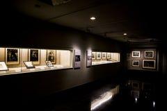 Sekleren Art Museum på universitetsområdet av det Peking universitetet Arkivfoton