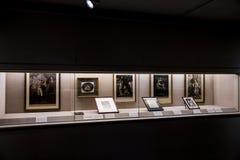 Sekleren Art Museum på universitetsområdet av det Peking universitetet Royaltyfria Foton