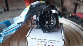 Sekmi agradável da empresa do relógio nos dewas foto de stock