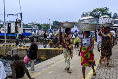 Sekondi fish market women