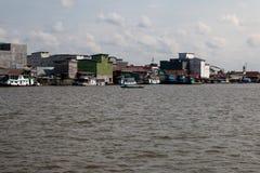 Sekonyer River. Kalimantan Bird House Royalty Free Stock Photo