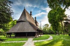sekowa Польши церков деревянное Стоковые Изображения RF