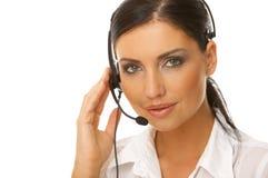 Sekretär online Stockbilder